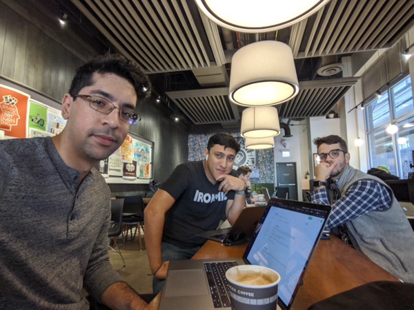 Making a Maker: Sunny Singh, Leon Hitchens and Kyle McDonald