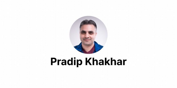 Building a culture of customer obsession with Pradip Khakhar