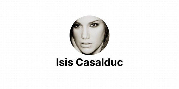 From Miss Universe to Indie Hacker with Isis Casalduc